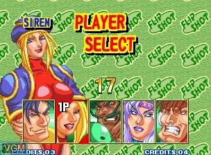 Image du menu du jeu Battle Flip Shot sur SNK NeoGeo