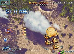 Image du menu du jeu Blazing Star sur SNK NeoGeo