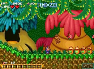 Image du menu du jeu Blue's Journey / Raguy sur SNK NeoGeo