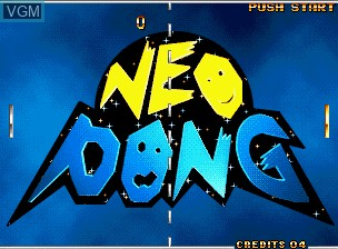 Neo Pong
