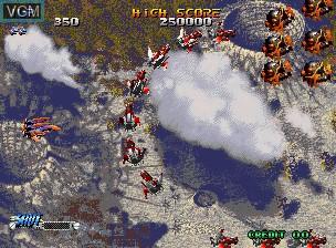 Image in-game du jeu Blazing Star sur SNK NeoGeo