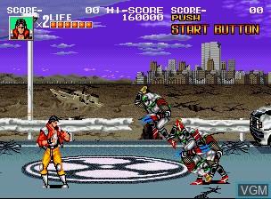 Image in-game du jeu Sengoku / Sengoku Denshou sur SNK NeoGeo