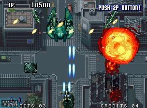 Image in-game du jeu Aero Fighters 2 / Sonic Wings 2 sur SNK NeoGeo