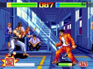 Image in-game du jeu Aggressors of Dark Kombat / Tsuukai GANGAN Koushinkyoku sur SNK NeoGeo