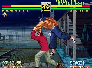Image in-game du jeu Art of Fighting 3 - The Path of the Warrior / Art of Fighting - Ryuuko no Ken Gaiden sur SNK NeoGeo