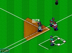 Image in-game du jeu Baseball Stars Professional sur SNK NeoGeo