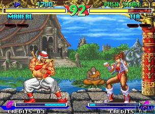 Image in-game du jeu Breakers sur SNK NeoGeo