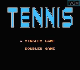 Image de l'ecran titre du jeu 110-in-1 sur Nintendo NES