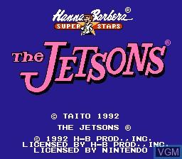 Image de l'ecran titre du jeu Jetsons, The - Cogswell's Caper! sur Nintendo NES