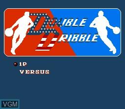 Image du menu du jeu 11-in-1 Ball Games sur Nintendo NES
