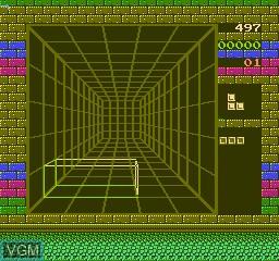 Image du menu du jeu 150-in-1 sur Nintendo NES