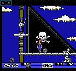 Image du menu du jeu Skull & Crossbones sur Nintendo NES
