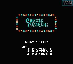 Image du menu du jeu 1200-in-1 sur Nintendo NES