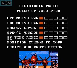 Image du menu du jeu 1943 - The Battle of Midway sur Nintendo NES