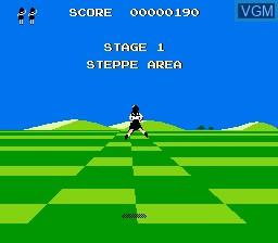 Image du menu du jeu Attack Animal Gakuen sur Nintendo NES