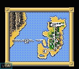 Image du menu du jeu BreakThru sur Nintendo NES