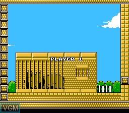 Image du menu du jeu New Zealand Story, The sur Nintendo NES