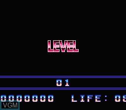Image du menu du jeu Titan sur Nintendo NES