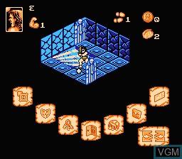 Image in-game du jeu Hero Quest sur Nintendo NES