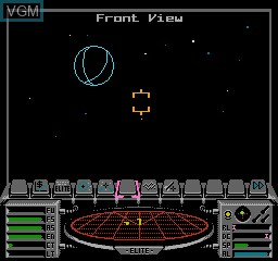 Image in-game du jeu Elite sur Nintendo NES