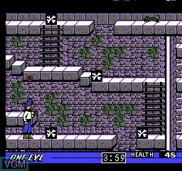 Image in-game du jeu Skull & Crossbones sur Nintendo NES