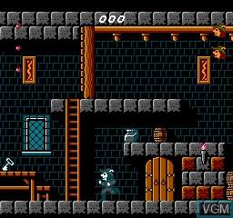 Image in-game du jeu Super Robin Hood sur Nintendo NES