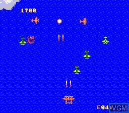 Image in-game du jeu 1943 - The Battle of Midway sur Nintendo NES