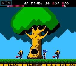 Image in-game du jeu Athena sur Nintendo NES