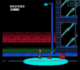 Image in-game du jeu Attack of the Killer Tomatoes sur Nintendo NES