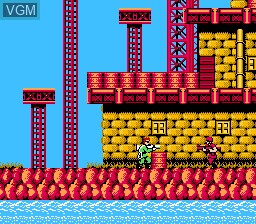 Image in-game du jeu Bionic Commando sur Nintendo NES