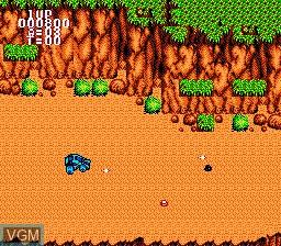 Image in-game du jeu BreakThru sur Nintendo NES