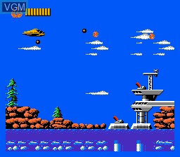 Image in-game du jeu Captain Planet and The Planeteers sur Nintendo NES
