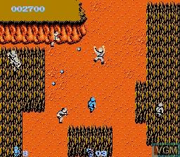 Image in-game du jeu Commando sur Nintendo NES