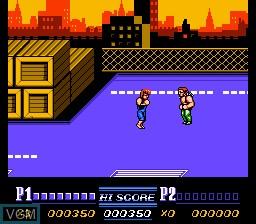Image in-game du jeu Double Dragon II - The Revenge sur Nintendo NES