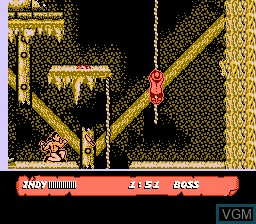 Image in-game du jeu Indiana Jones and the Last Crusade sur Nintendo NES