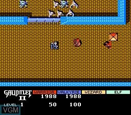Image in-game du jeu Gauntlet II sur Nintendo NES