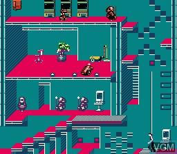 Image in-game du jeu Impossible Mission II sur Nintendo NES