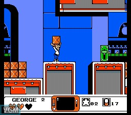 Image in-game du jeu Jetsons, The - Cogswell's Caper! sur Nintendo NES