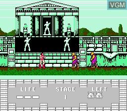 Image in-game du jeu Juuouki sur Nintendo NES