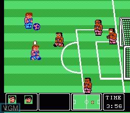 Nekketsu Koukou Dodgeball Bu - Soccer Hen