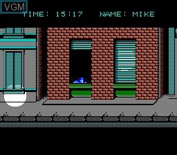 Image in-game du jeu Rescue - The Embassy Mission sur Nintendo NES