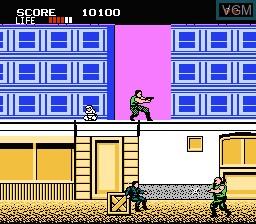 Image in-game du jeu Shinobi sur Nintendo NES