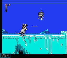 Image in-game du jeu Star Wars - The Empire Strikes Back sur Nintendo NES