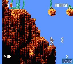 Image in-game du jeu Super Turrican sur Nintendo NES