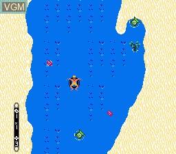 Image in-game du jeu Toobin' sur Nintendo NES