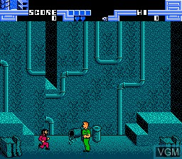 Image in-game du jeu Total Recall sur Nintendo NES