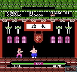 Image in-game du jeu 116-in-1 sur Nintendo NES