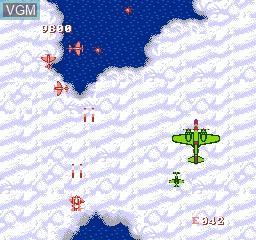 Image in-game du jeu 1944 sur Nintendo NES