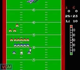 Image in-game du jeu 10-Yard Fight sur Nintendo NES