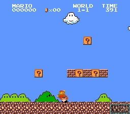 Image in-game du jeu 115-in-1 sur Nintendo NES